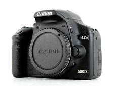 Canon EOS 500D 15.1MP Digital SLR Camera Black(Body Only)