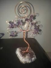 Portafoto albero della vita rame e argento inossidabile pietre  scelta