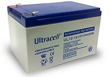 Ultracell UL12-12 : Batterie au plomb étanche 12V 12AH : 151x98x101mm (12000mAh)
