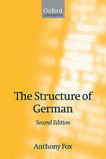 The Structure of German (Oxford Linguistics)-ExLibrary