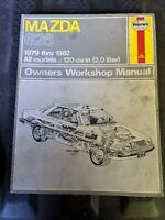 1979 Thru 1982 Mazda 626 Owners Workshop Manual Haynes