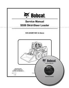 Bobcat S550 Workshop Repair Service Manual 6990677 CD + Download 6990677
