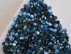 750pcs Hotfix Lt. BLUE AB Glass Crystal SS12 (3mm) Flatback Rhinestones Iron On