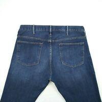 Old Navy - Skinny Dark Blue Faded Stretch Denim Jeans Men's Size 36