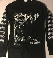 MORTICIAN Long Sleeve T shirt DEATH METAL Immolation Suffocation S-XL FREE SHIP