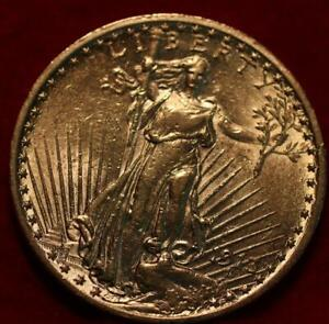 Uncirculated 1913-S San Francisco Mint $20 Gold Coin