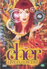 Cher DVD (Sealed) - Live in Concert
