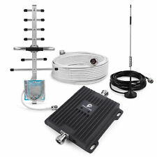 3G 4G LTE Cell Phone Signal Booster Kit 850/1900MHz Mobile Repeater for Home Use