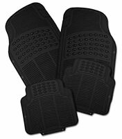 MG ROVER ZR ZT ZS 25 45 CITY ROVER Universal Rubber Car Mats Heavy Duty 4pc