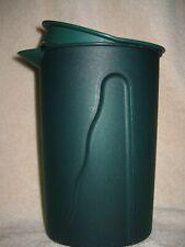 Tupperware ~ Green 1 Liter ~ IMPRESSIONS Pitcher   #3216