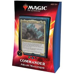 Magic the Gathering - MTG - Commander - Arcane Maelstrom - ENGLISH!