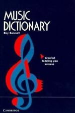 Music Dictionary by Roy Bennett (1990, Paperback)