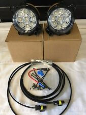 LED DRL FOG LIGHTS VW TRANSPORTER  T5  03-09 ON X 2  FIT ALL T5  FRONT BUMPERS