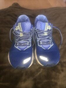 Brooks women's Ghost 12 running shoes / trainers blue size 5 Medium Fit B