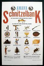 1975 Instructions for Singing Schnitzelbank, Amana Colonies, Iowa