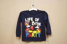 LIFE OF THE PARTY DARK BLUE T-SHIRT..DISNEY..FOR KIDS..SIZE: LARGE ...A.D..NEW