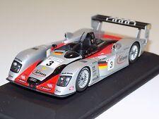 1/43 Minichamps Audi R8 Sport car #3 24 Hours of LeMans 2002