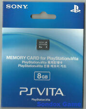 OFFICAL SONY PSVITA PSV 8GB 8 G 8G GB MEMORY CARD New Sealed