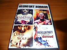 The Midnight Horror Collection: Blood Predators (DVD 2010) Used 4 Movies