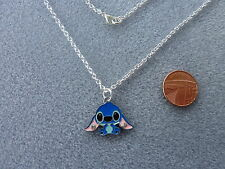 "Stitch Enamel Pendant Necklace 16"" Lilo and Stitch Birthday Gift Present # 45"