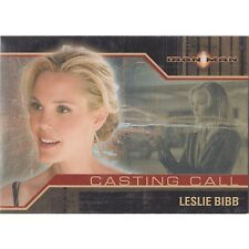 Marvel Iron Man Movie Casting Call Chase Card CC7 Christine Everhart