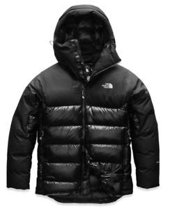 NEW North Face Mens SUMMIT L6 DOWN BELAY PARKA Jacket Small Black Down