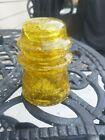 Rare+Honey+Crackled+Glass+Hemingray+-17+Insulators+38-53+hints+of+rainbow