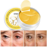 60Pc Gold Eye Patch Mask Collagen Anti Wrinkle Eye Bags Dark Circles Puffiness