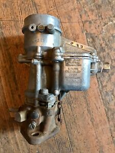 1939 1940 DESOTO CHRYSLER CARTER CARBURETOR 6-293 E6N2 REBUILDABLE 39 40