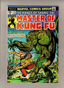 THE HANDS OF SHANG-CHI, MASTER OF KUNG FU #19_AUG 1974_VERY FINE_BRONZE AGE!