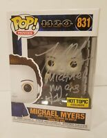 Funko Pop Michael Myers #831 Halloween Hot Topic Exclusive Signed by Tony Moran