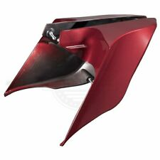 2009-2013 Harley Street Road Glide Red Hot Sunglo Stretched Extended Side Cover