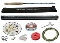 Tenkara Fly Rod - Wilson Creek Zoom 10'/11' w/Starter Kit- Japanese Carbon Fiber