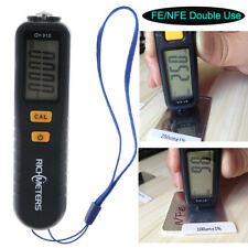 GY910 Coating Thickness Gauge LCD Probe Film Paint Tester Russian/English Manual