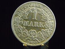 - M.F.B - Deutsches Kaiser Reich Wilhelm II1 Mark 1909 A in vz  607