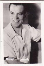 Figurina attori DOUGLAS KENNEDY anni '50 plastificata originale