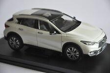 Infiniti QX30 car model in scale 1:18 White