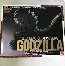 Bandai King Scale Remote Control Godzilla Action Figure