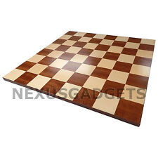 Zoric Chess 18 INCH Large TOURNAMENT BORDERLESS Wood Game Flat Inlaid BOARD ONLY