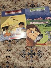 Lot of 4 Children's Books in Spanish Great Condition
