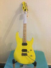 Vintage 24 Fret Power Guitar. V6 M24 DY (SATRIANI YELLOW)