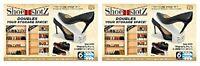 12 PCS Shoe Slots Space Saver Easy Shoes Organizer Plastic Rack Storage Holder