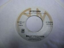 "Billy Preston I'm Really Gonna Miss You / Attitudes 7"" 45 rpm A&M VG+ Beatles"