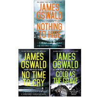 James Oswald The Inspector McLean Series Collection 3 Books Set Paperback NEW