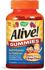 Nature's Way Alive! Children's Premium Gummy Multi-Vitamin, 90 Ct (2 Pack)