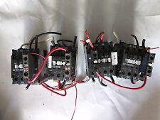 *LOT OF 4* ABB 480V COIL din rail Contactor 4 X NB25-22-00  4 X CA7-10