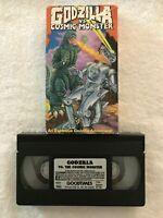 Godzilla Vs. Cosmic Monster (1993) - VHS Movie - Sci-Fi / Action - Goodtimes