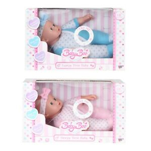 Babyboo Sleepy Time Soft Bodied Baby Doll With Sounds  - 18 months +   New