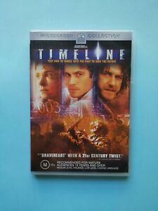 Timeline 🎬 DVD Region 4 PAL 🎬
