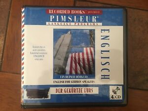 ENGLISH FOR German Speakers Pimsleur The Short Course Unabridged Audiobook